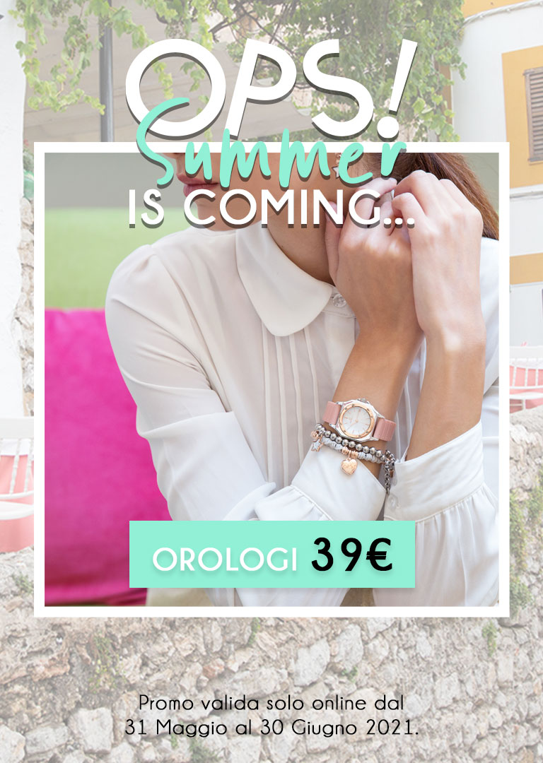 Opsobjects: Orologi, bracciali e gioielli dal design made in Italy Opsobjects